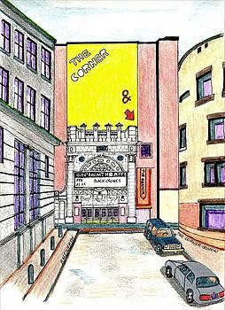 The Corner -Boston by Paul Meinerth