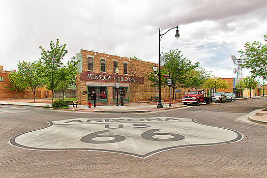 The Corner In Winslow by Newman Artography