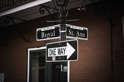 Chris Coffee - The Corner of Royal and St. Ann, New Orleans, Louisiana