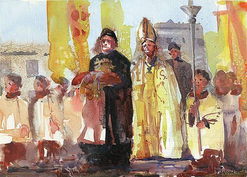 The Coronation by Kristina Vardazaryan