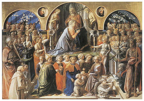 Fra Filippo Lippi - The Coronation of the Virgin