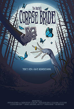 The Corpse Bride Alternative Poster by Christopher Ables