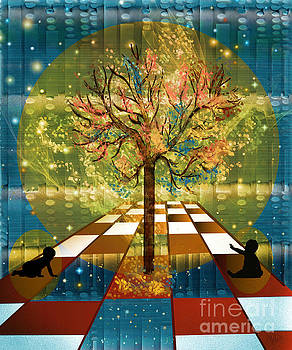 The Cosmic Tree by Sydne Archambault
