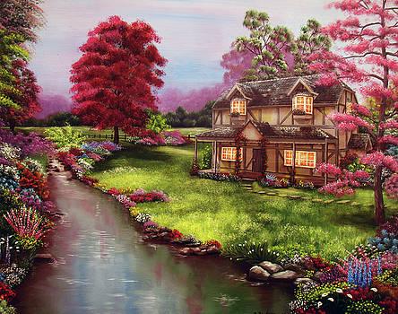 The Cottage Garden by Debra Dickson