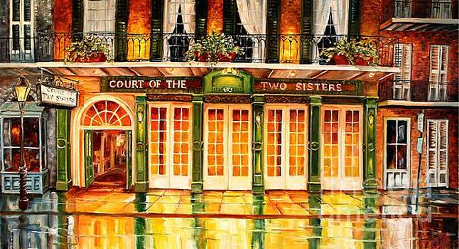 The Court of Two Sisters on Royal by Diane Millsap