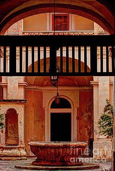 The Court Yard Malta by Tom Prendergast