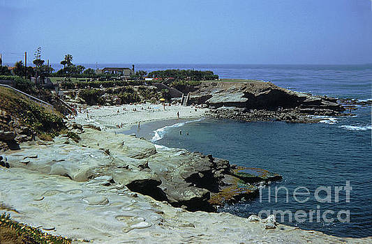 The Cove at La Jolla cieca 1950 by California Views Mr Pat Hathaway Archives