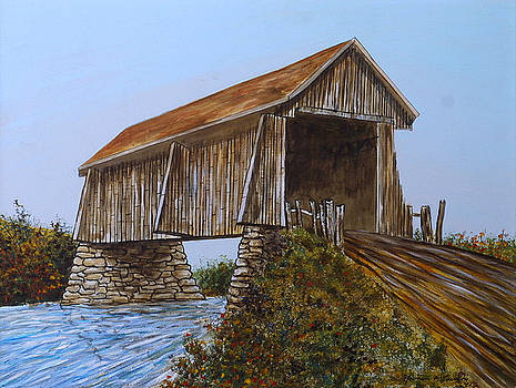 The Covered Bridge by Norman F Jackson