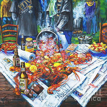 The Crawfish Boil by Dianne Parks