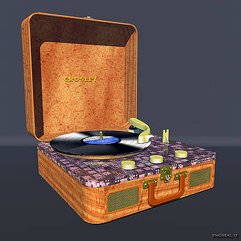 Walter Oliver Neal - The Crosley Traveler - A Vintage Portable Turntable 2