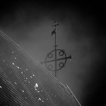 The Cross. BW The Church of St Mary in Sastamala by Jouko Lehto