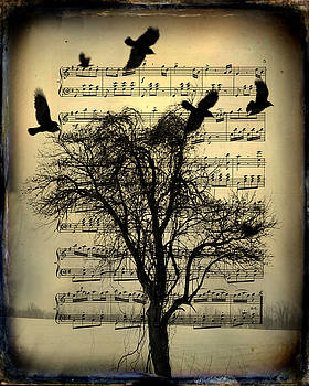 The Crow's Song by Gothicrow Images