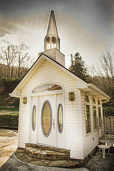 The Crystal Wedding Chapel by Cynthia Wolfe