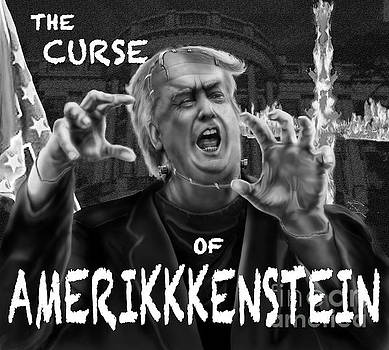 The Curse of Amerikkenstein by Reggie Duffie