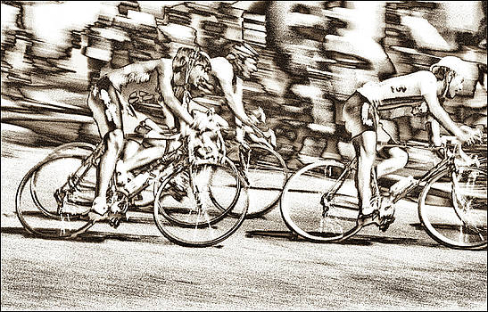 The Cyclists No. 23 Chase Group Solar Sepia by Steven Hlavac