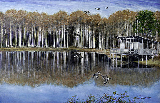 The Cypress Pond  by Betty McGlamery