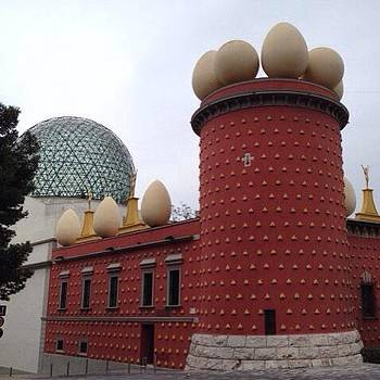The Dalí Theatre-museum In Figueres by Stefano Bagnasco