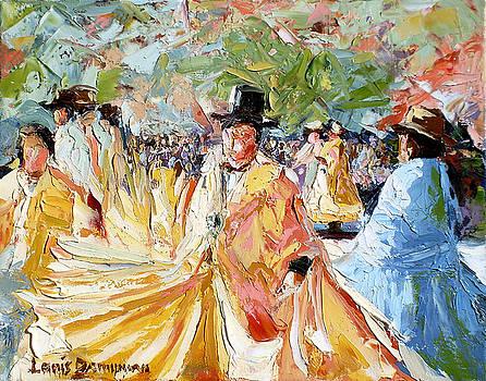 The Dance At La Paz by Lewis Bowman