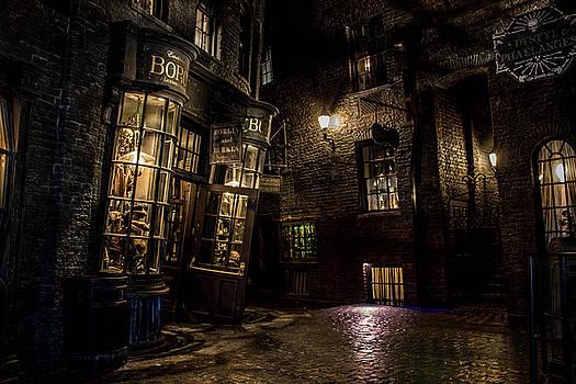 The Dark Alley by Luis Rosario
