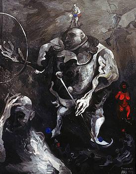 Ari Roussimoff - The Dark Sideshow, Pinhead and bearded Lady