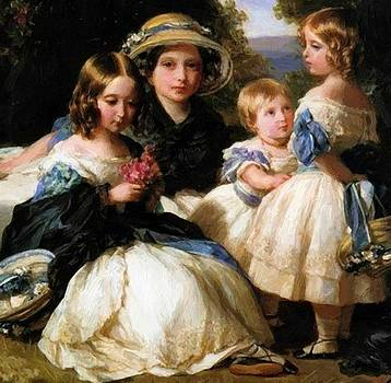 Winterhalter Franz Xaver - The Daughters Of Queen Victoria And Prince Albert