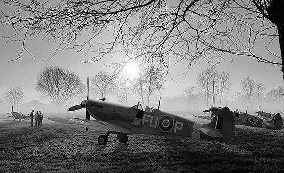 The Day Begins - BW by Mark Donoghue
