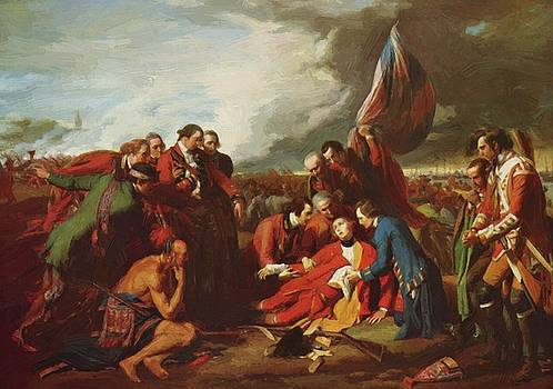 West Benjamin - The Death Of General Wolfe 1770