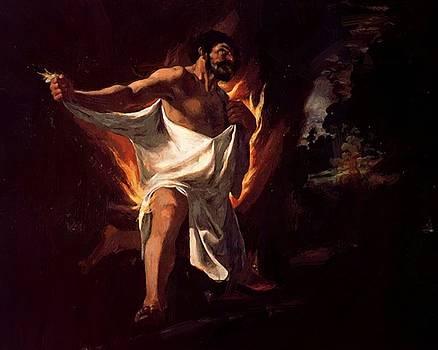 Zurbaran Francisco de - The Death Of Hercules 1634