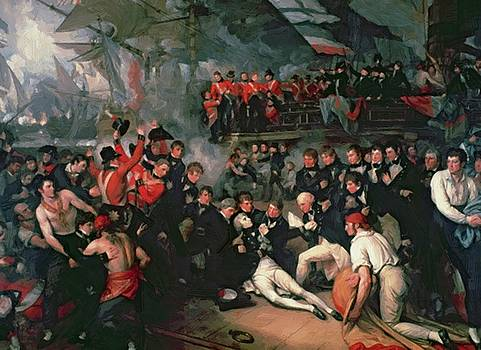 West Benjamin - The Death Of Nelson 21St October 1805
