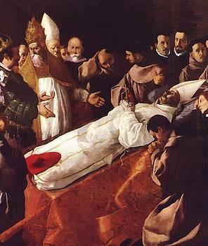 Zurbaran Francisco de - The Death Of St Bonaventura 1629
