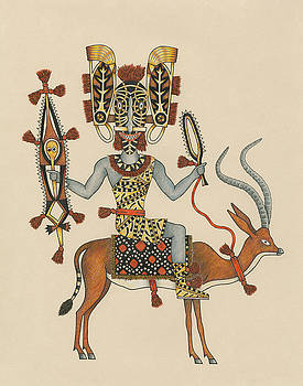 Decorated Rider of the Gazelle Cavalry by Matt Leines