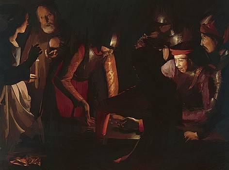 Zurbaran Francisco de - The Denial Of Saint Peter 1650