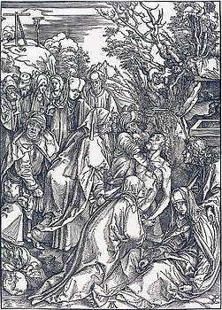 Albrecht Durer - The Deposition