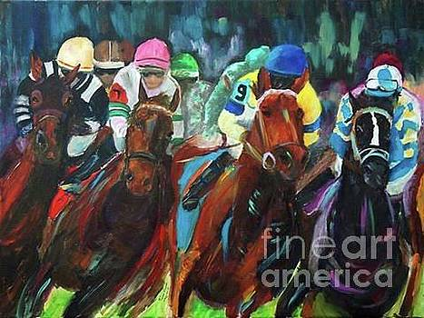 The Derby by Frankie Picasso