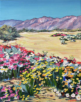 The Desert in Bloom by Robert Gerdes