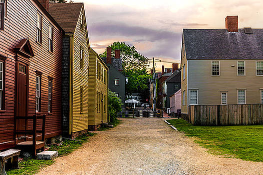 The Dirt Roads of Strawbery Banke by Devin LaBrie