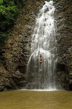The Dive // Montezuma Waterfalls, Costa Rica by Kirsten Dale