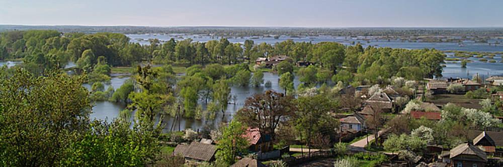 The Dnieper vastness. Lyubech, 2010. by Andriy Maykovskyi