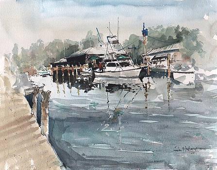The Dock by Gaston McKenzie