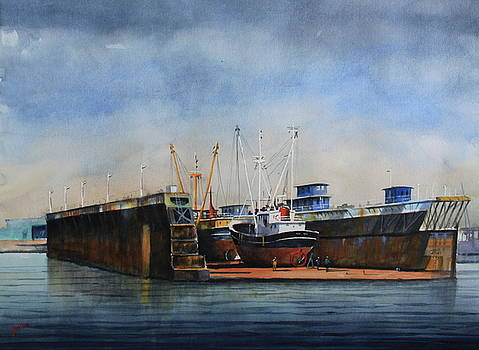 The Dock by Jan Min