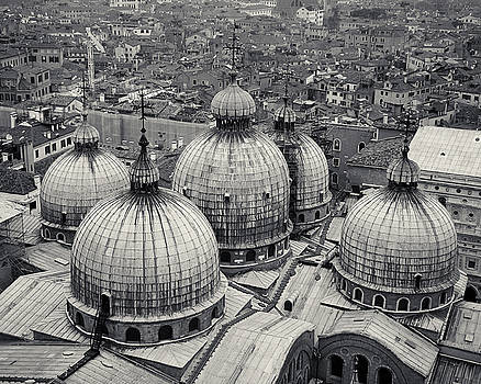 Richard Goodrich - The Domes of San Marco, Venice, Italy