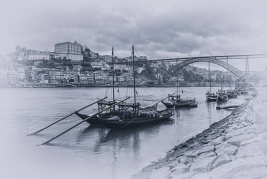 The Douro River by Livio Ferrari