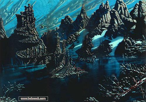 The Dragon's Lagoon by Bob Cook