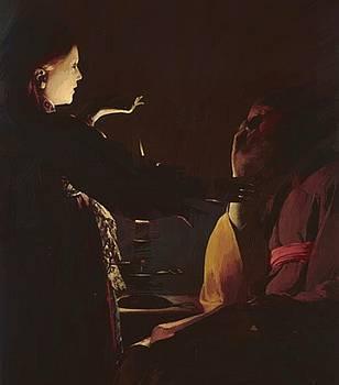 Zurbaran Francisco de - The Dream Of Saint Joseph 1635