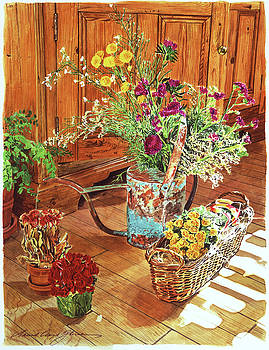 The Dried Flower Shop by David Lloyd Glover