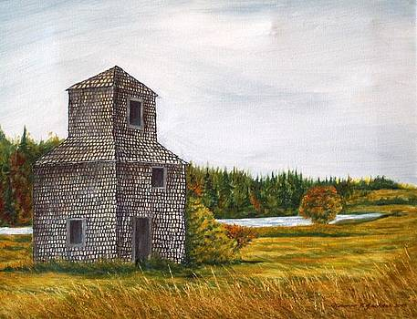 The Drying Barn by Norman F Jackson