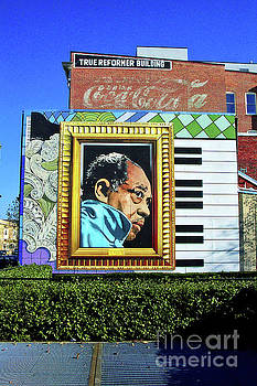 The Duke Ellington Mural, Wash., DC, 2002 by Walter Oliver Neal