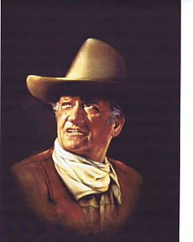 The Duke John Wayne by Mahto Hogue