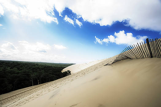 The Dune of Pilat - France by Russell Mancuso
