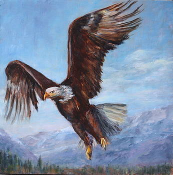 The Eagle by Joan Wulff